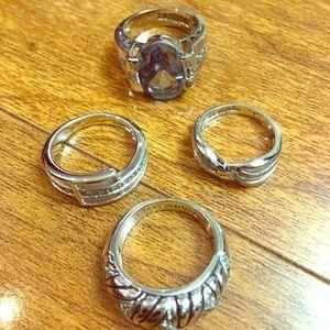 4 Lia Sophia Designer Rings